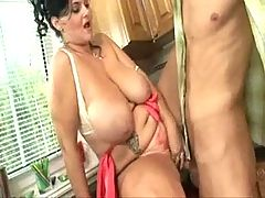 Housewife wants young big cock _: big boobs matures old + young