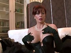 The Hottest Mature Lady in Stockings _: masturbation matures stockings