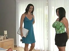 Lascivious Lesbian Love 19 _: big boobs brunettes lesbians